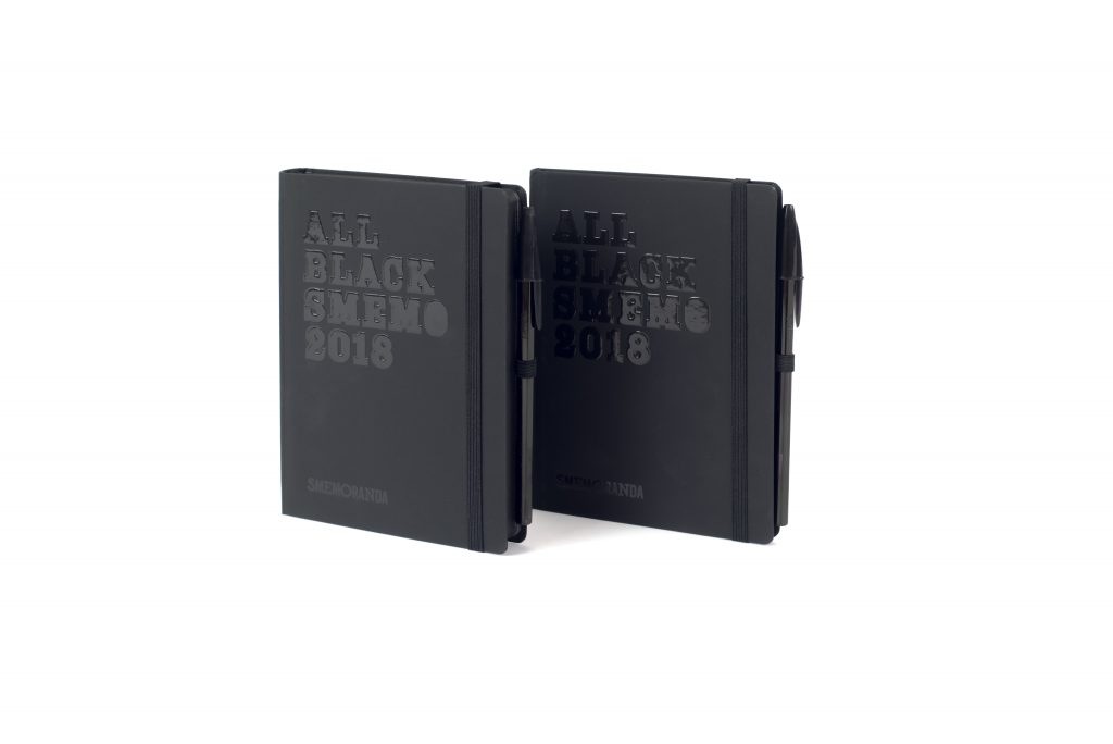 Smemoranda ALL BLACK 2018