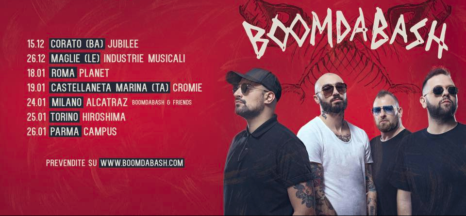 Boomdabash Barracuda Tour: Roma