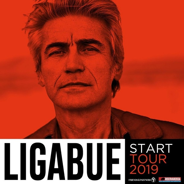 Ligabue in concerto a Milano per lo Start Tour 2019