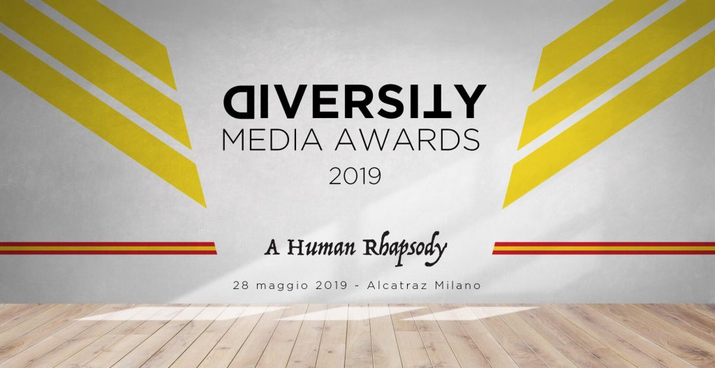 Diversity Media Awards 2019: tra le nomination anche Programma Italia