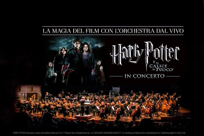 Harry Potter in concerto a Milano e Roma